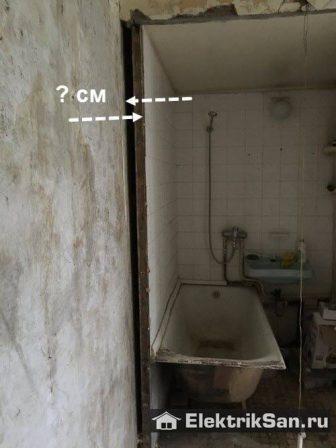 сантехкабина в панельном доме