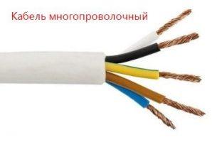 фото кабеля и провода