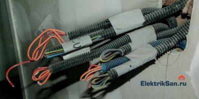 Виды электромонтажных работ в квартире
