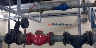 Водопровод в многоквартирном доме
