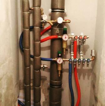 стояки водопровода дома
