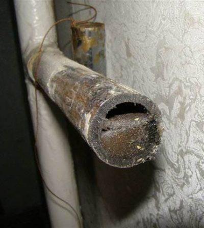 засор труб в квартире