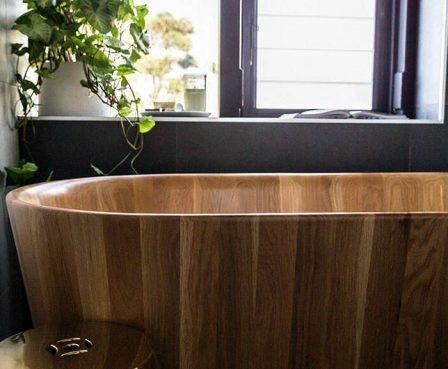 выбираем ванну из дерева