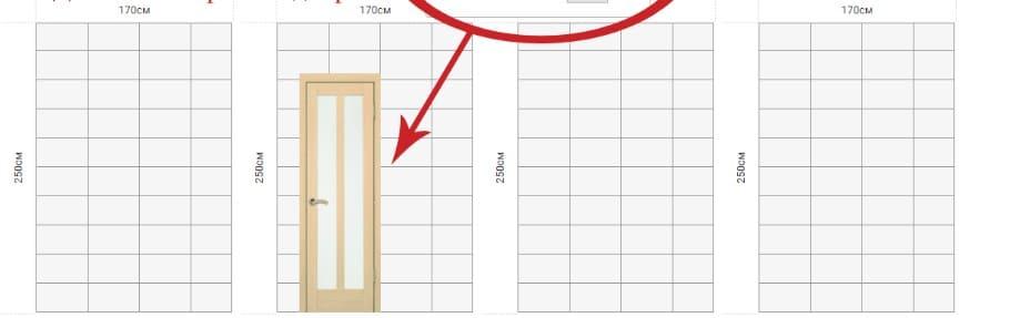 измерить ванную комнату