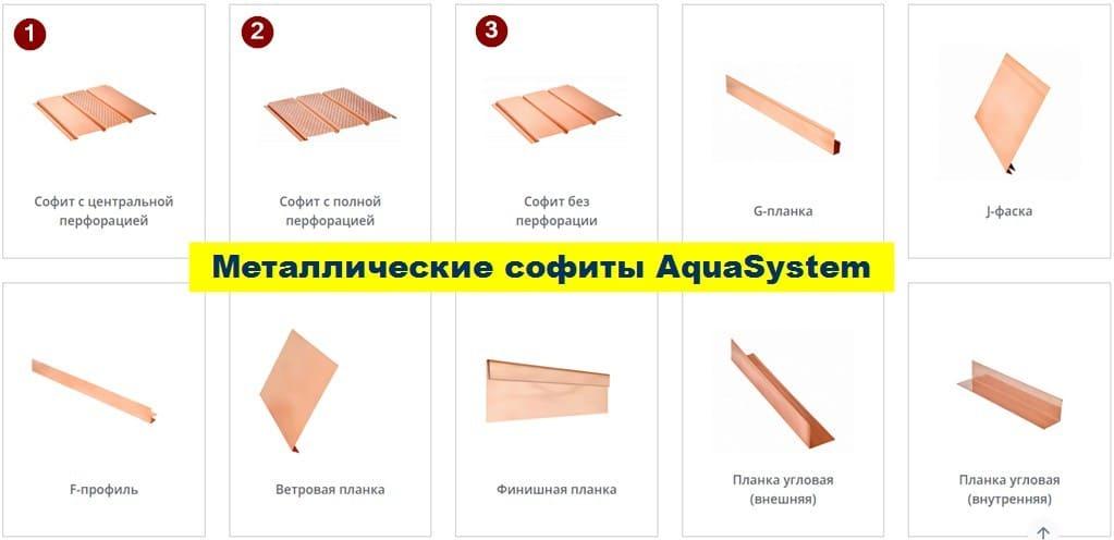 AquaSystem выпускает все элементы системы