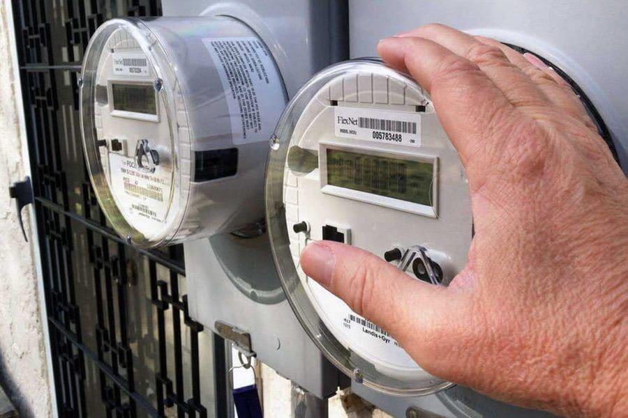 передать показания приборов учета электроэнергии